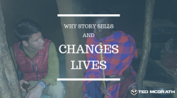 Why story sells and changes lives