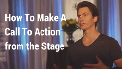 How To Make an Effective Call To Action from the Stage