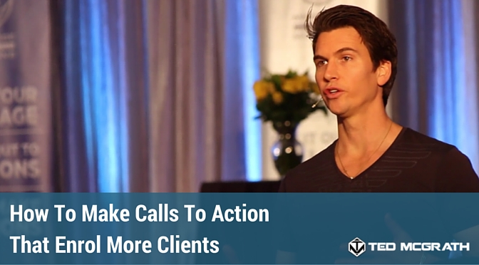 how to make calls to action